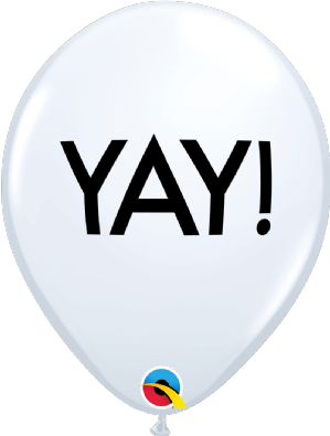 Simply YAY! Latex Balloons | Free Delivery Available